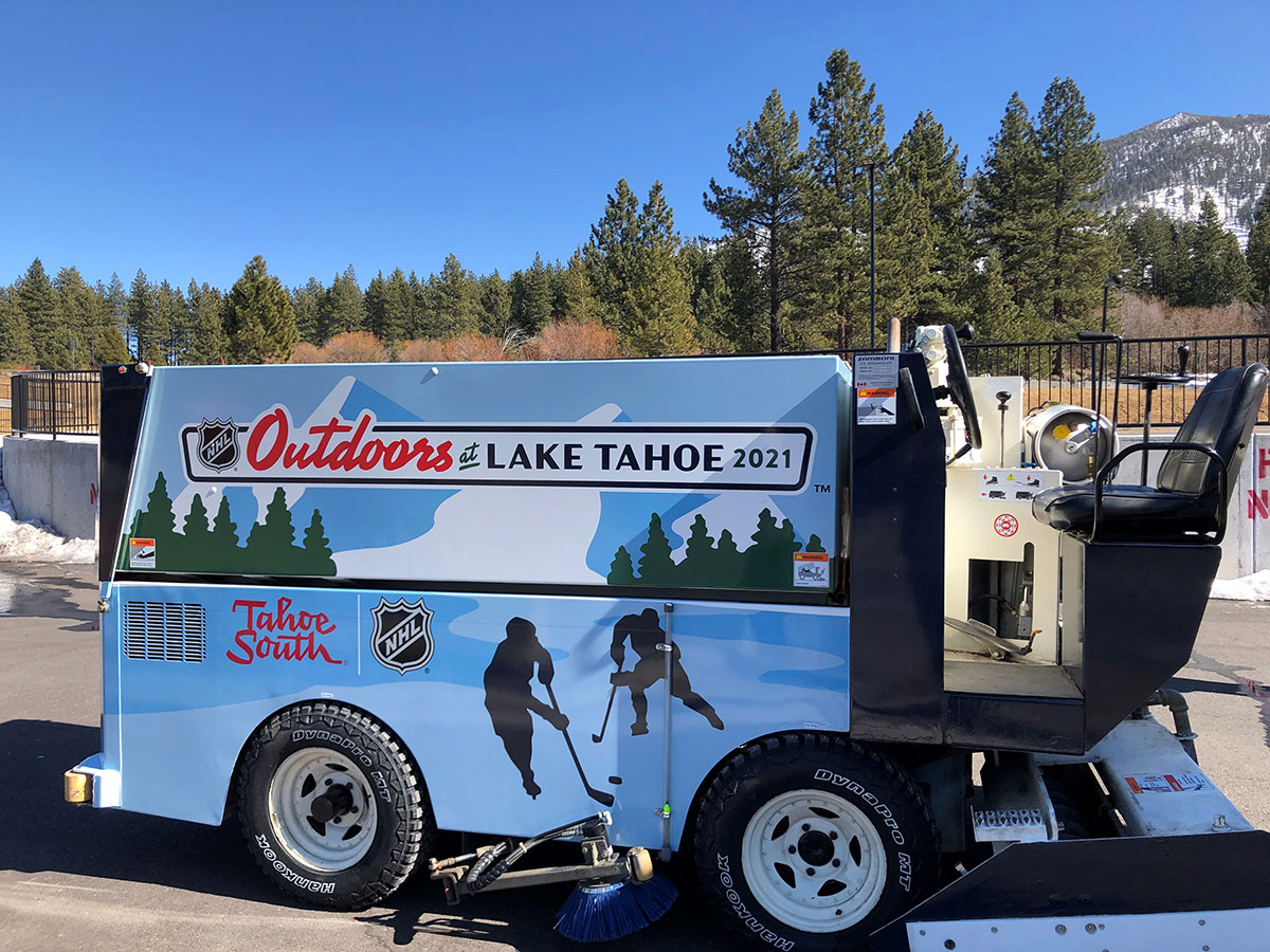NHL Zamboni for the Tahoe South Events Center