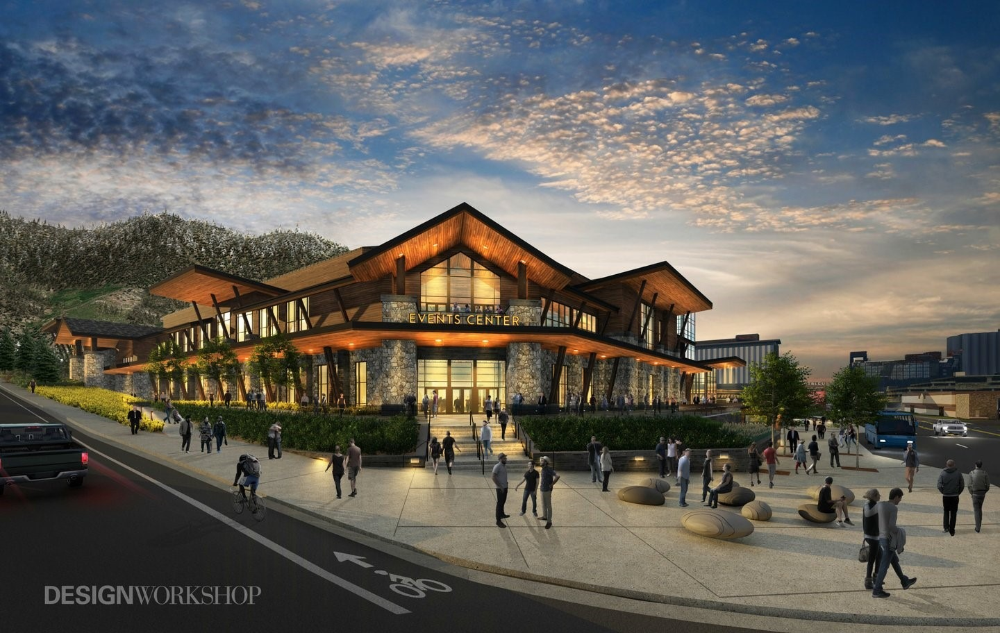 Tahoe South Events Center Rendition